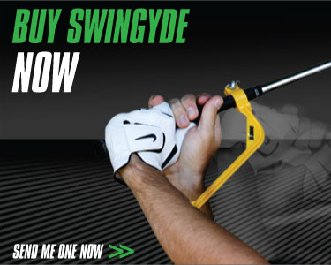 Golf training aid - Swingyde